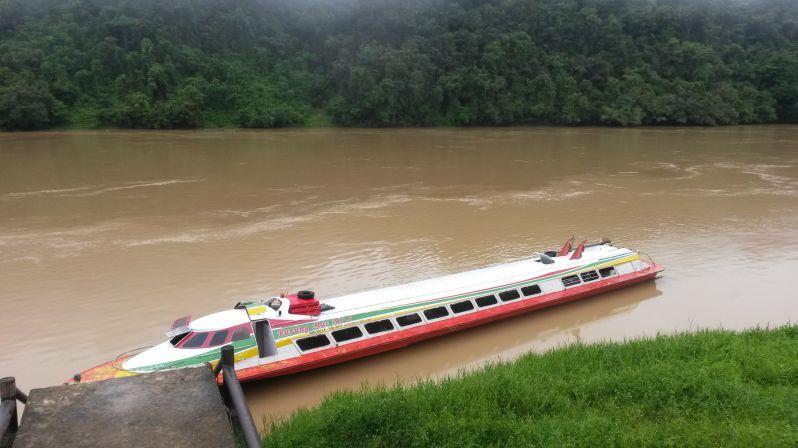 Express-Boot im Batang Rejang