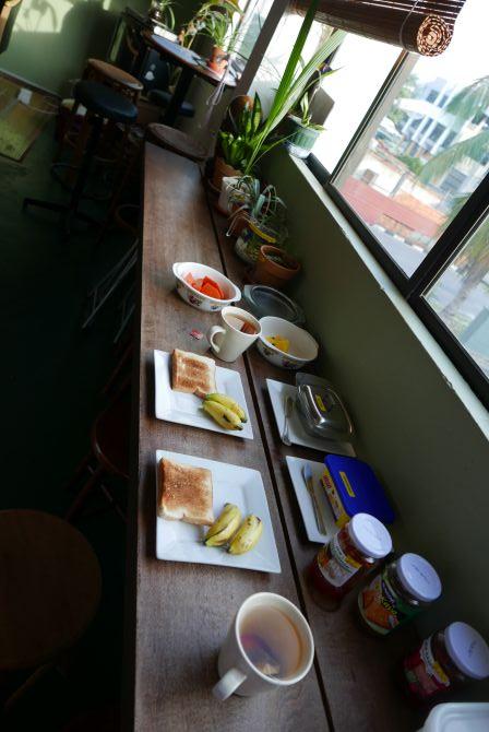 Unser Frühstück im Dillenia