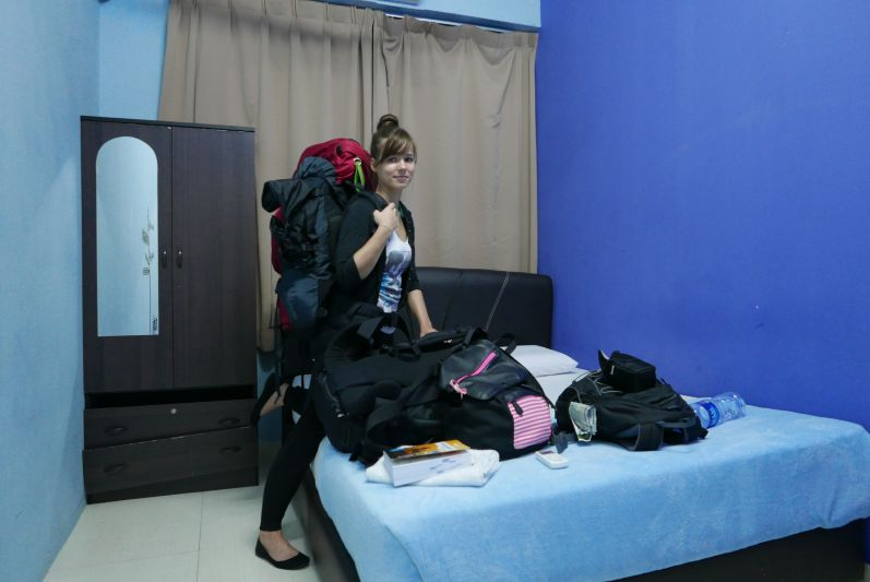 Unser Hostel-Zimmer