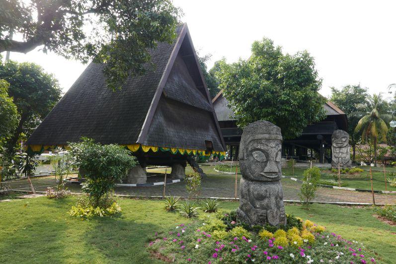 Das Sulawesi-Dorf
