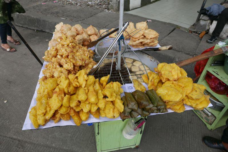 Tofu, Tempe und andere frittierte Teilchen