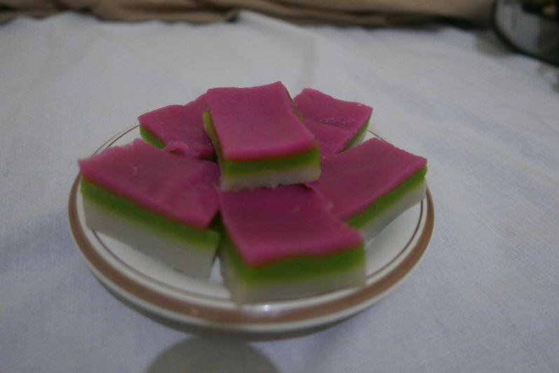 Kokos-Süßigkeit von unserer Homestay-Mama