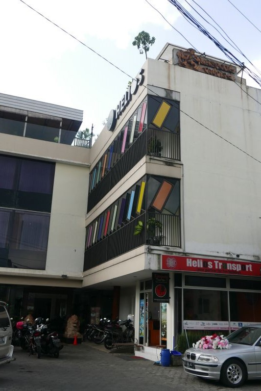 Hotel Helios - von außen pfui, vom innen hui