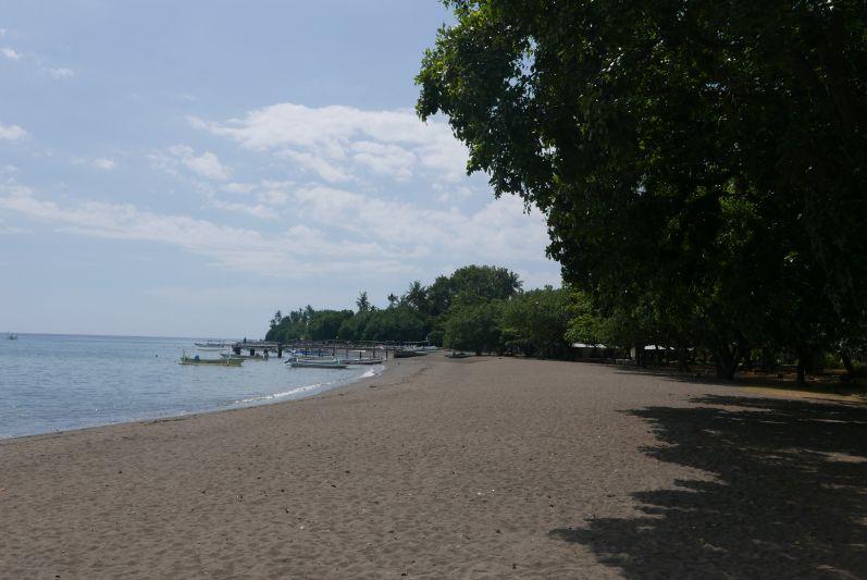 Lovinas schwarzer Strand