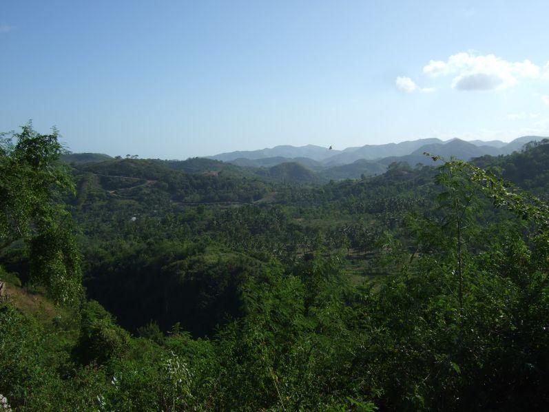 Diese tolle Aussicht hatten wir auf dem Rückweg nach Kuta