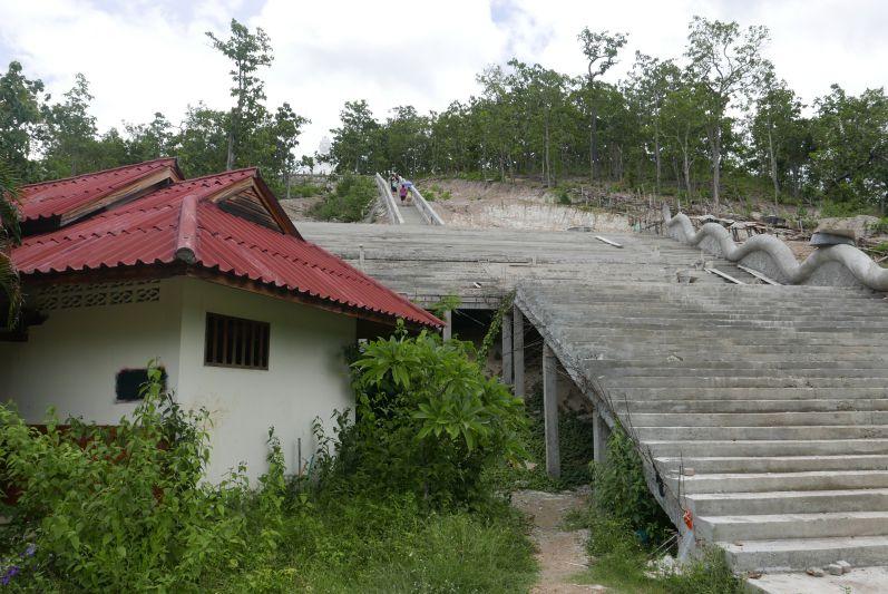 Die zweite Treppe...