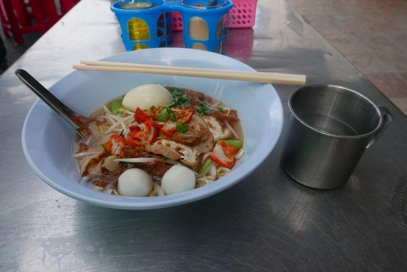 Eine der leckersten Suppen auf unserer bisherigen Reise