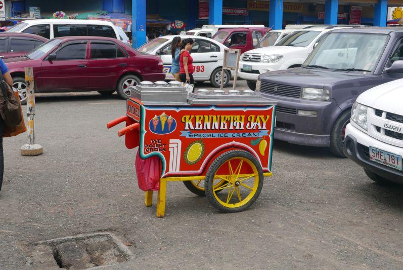 Eiswagen in Davao