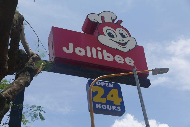 Jollibee - nur eine der vielen Fastfood-Ketten