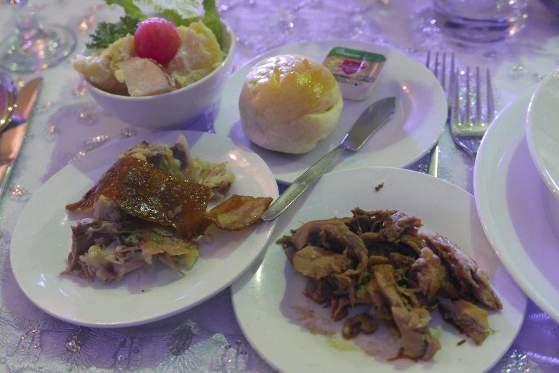 Natürlich gab es auch auf der Hochzeit genügend Fleisch für alle :)