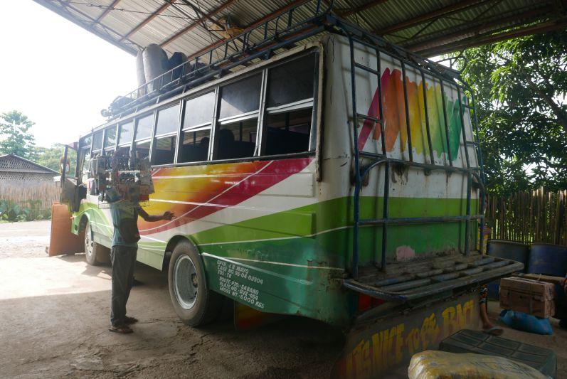 Dieser Jeepney hat uns nach Sabang gebracht