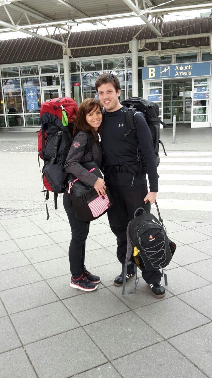 So sahen wir vor 6 Monaten am Münchner Flughafen aus