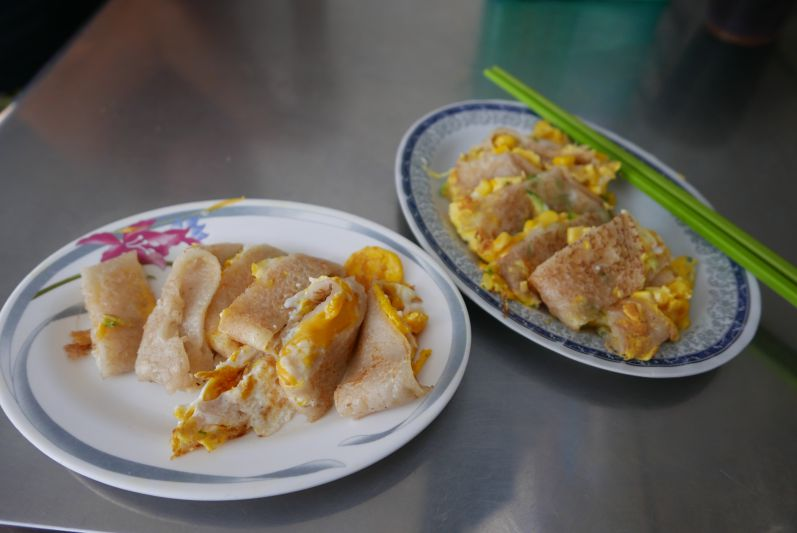 Taiwanesische Omletts