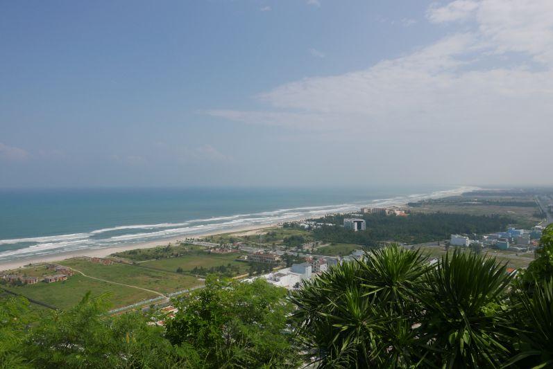 Aussicht auf den China Beach