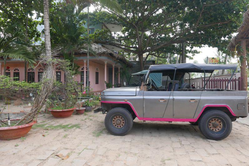 Unser Tour-Jeep