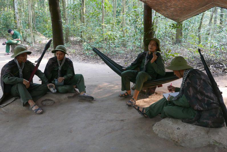 Vietcong-Puppen