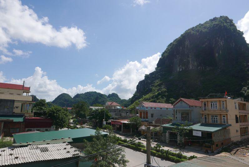Ausblick von unserem Zimmer im Thanh Phat Hotel