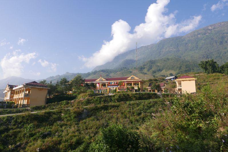 Eine Schule in ihrem Dorf