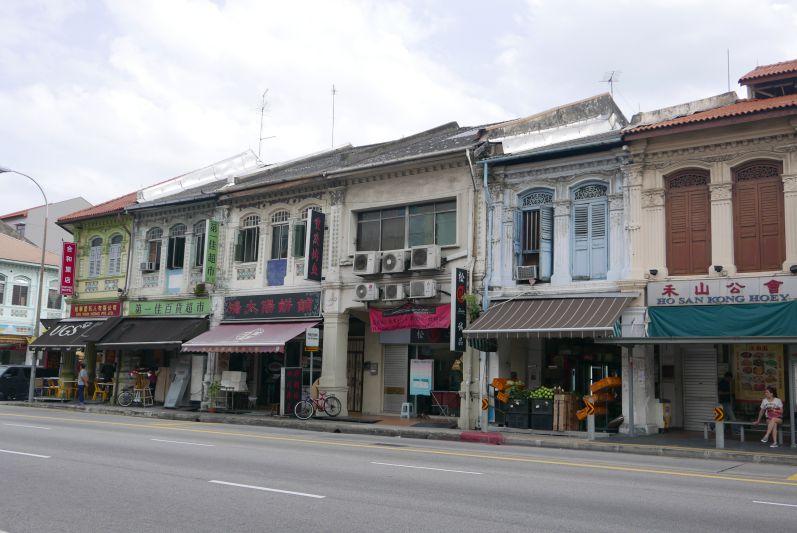 In Geylang gibt es noch wunderschöne alte Häuser