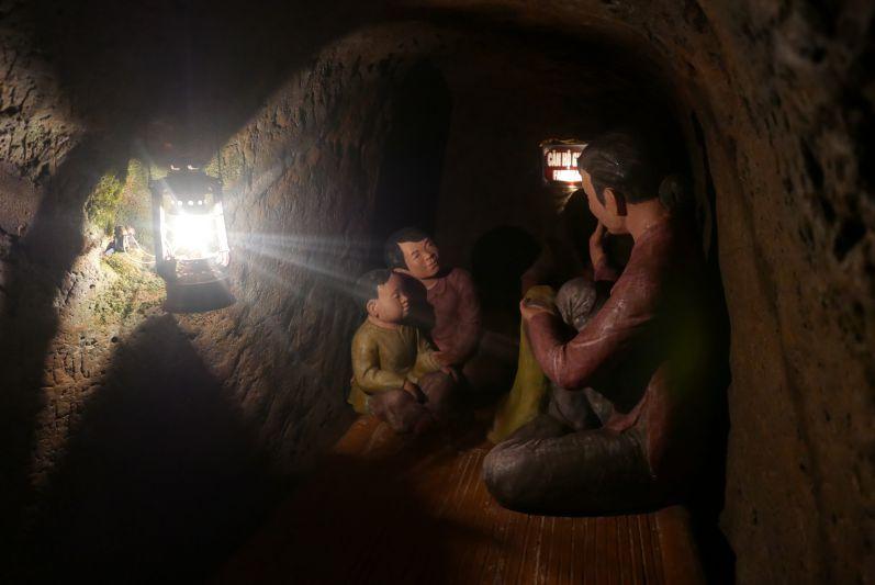 Im Tunnelsystem...