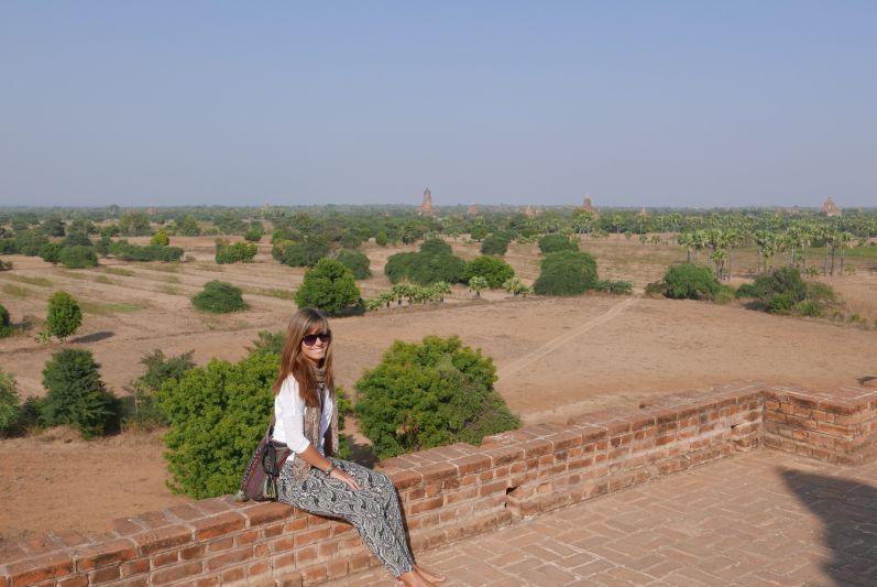 Das archäologische Gebiet von Bagan erstreckt sich über 41 km²