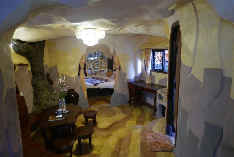 Die Hotelzimmer...