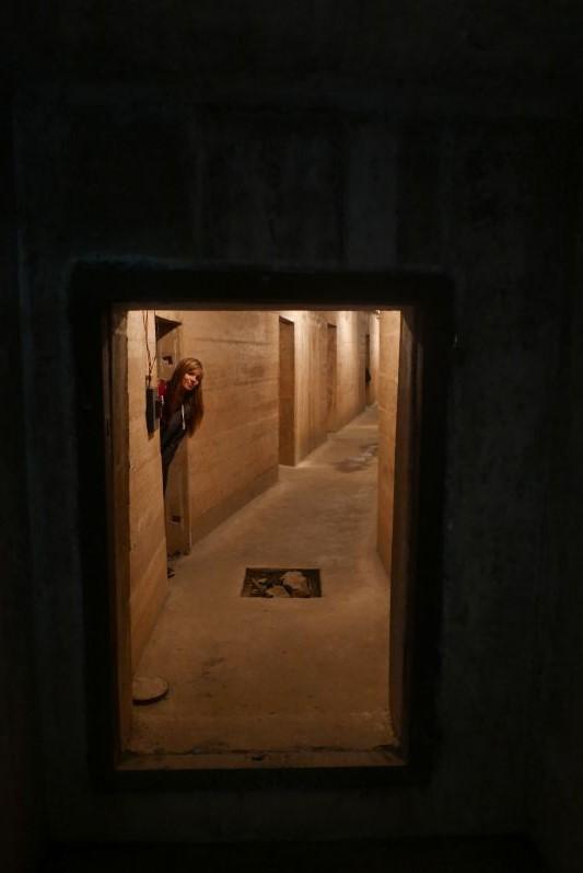 In der Höhle oder besser gesagt im Bunker ind er Höhle