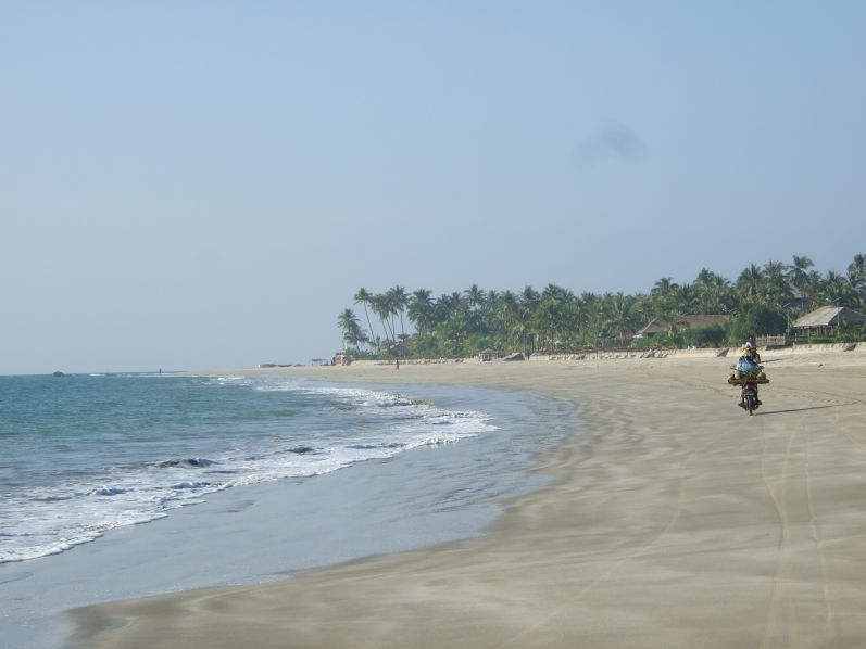 Der wunderschöne Ngew-Saung-Strand