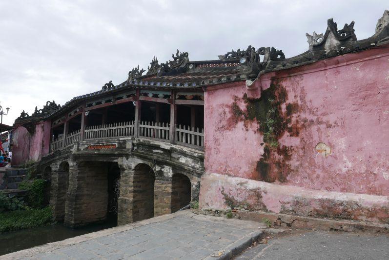 Japanische Brücke in Hoi An