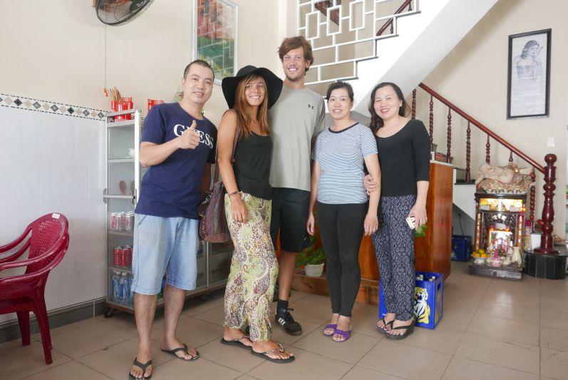Besitzer des Ho Lo Quan Restaurants in Hoi An