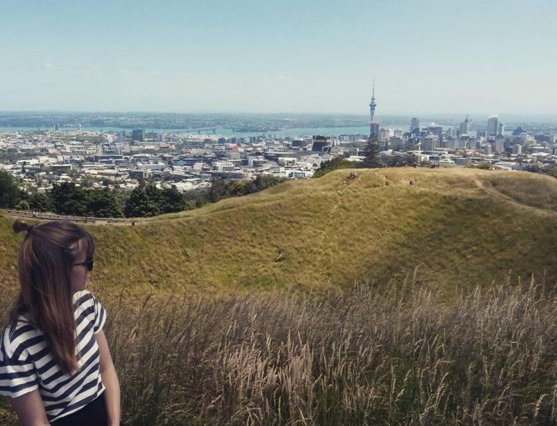 Blick auf Auckland vom Mount Eden