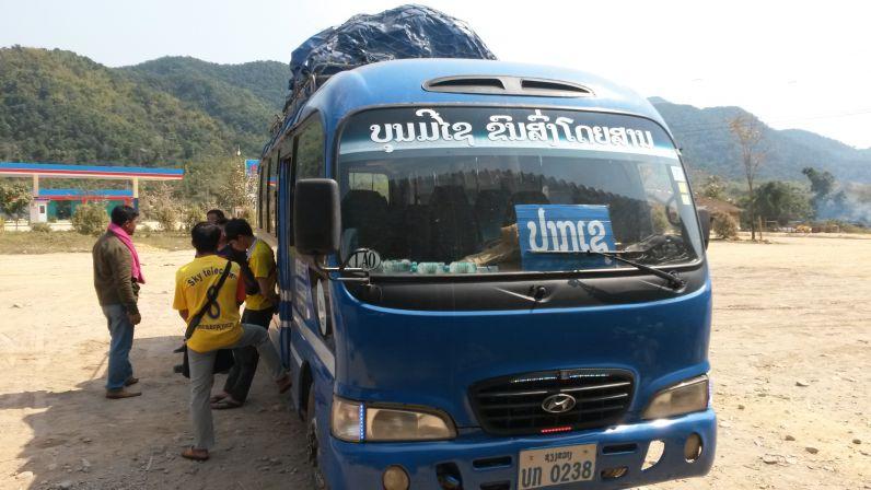 Reisebus Laos