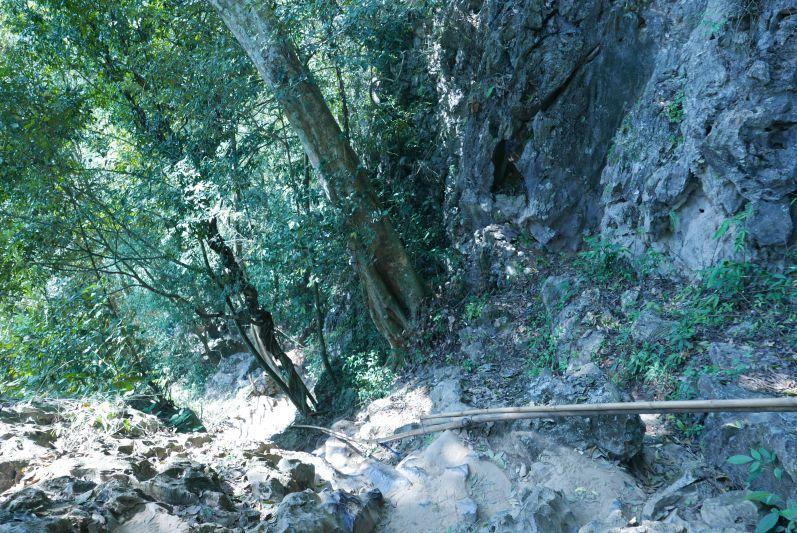 Weg zur Höhle
