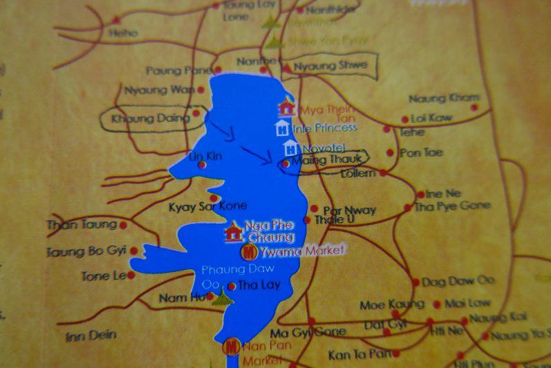 Karte_Inle_See_Myanmar_travel2eat