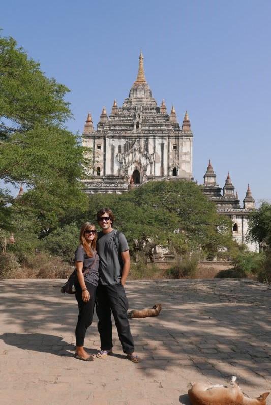 Thatbinnyu-Tempel in Bagan