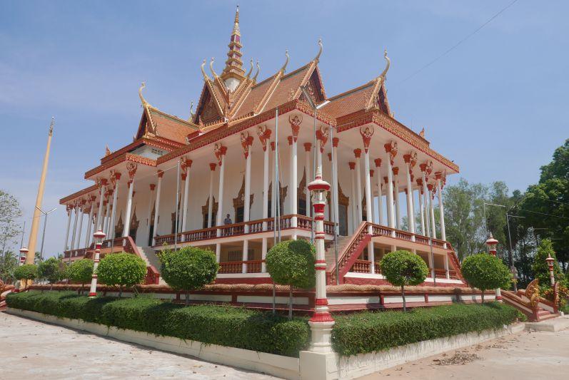 100 Pillars Pagoda von außen...