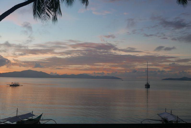 Ein weiterer paradiesischer Ort: Port Barton auf Palawan