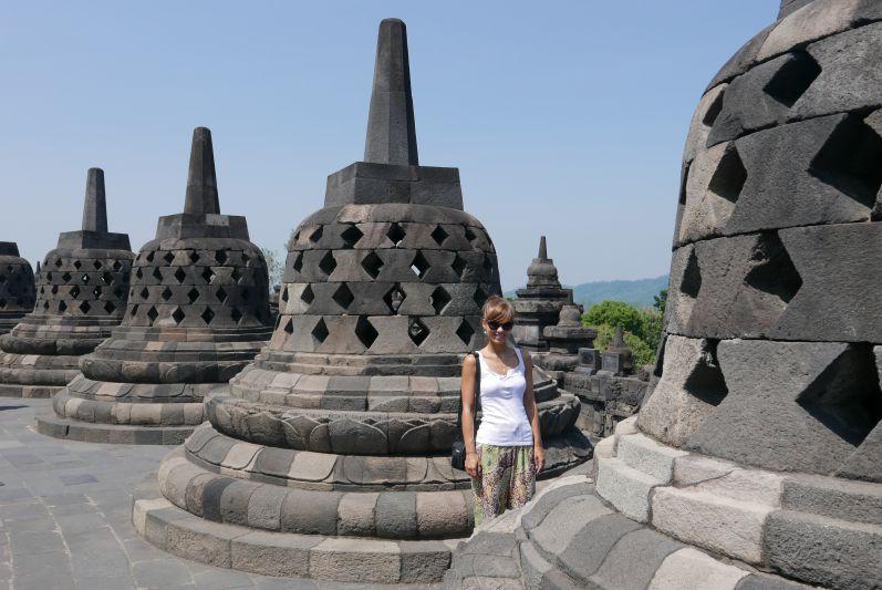 Borobudur-Tempel (Java)