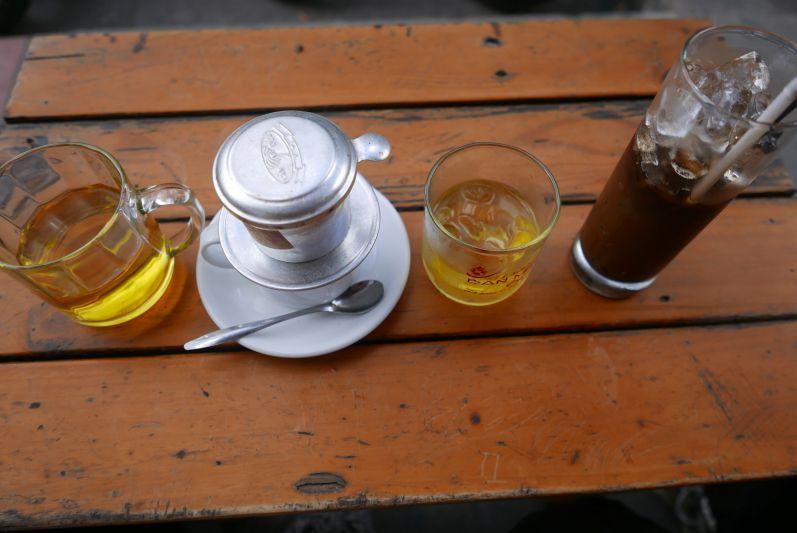 Den besten Kaffee gibt's in Südvietnam