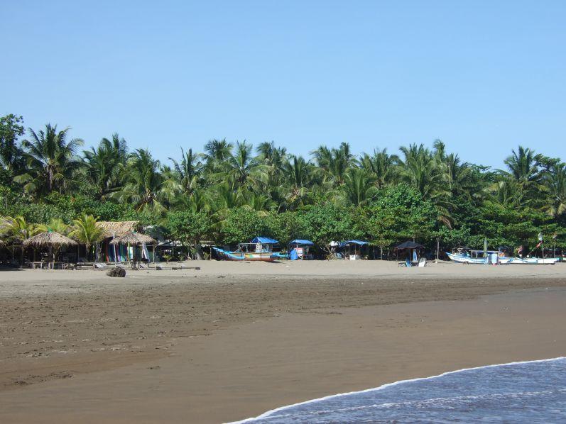 Strand von Pangandaran (Java)