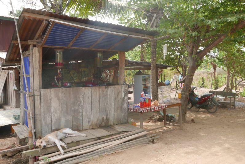 Tankstelle auf Don Khon