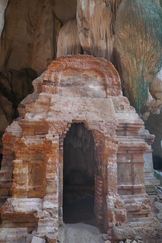 Dieser Tempel stammt aus dem 7. Jahrhundert