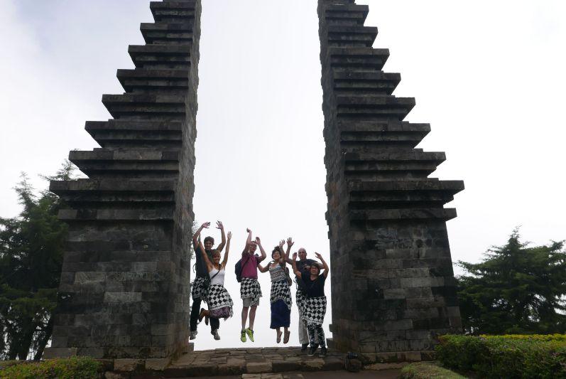 Tempel in der Nähe von Solo (Java)