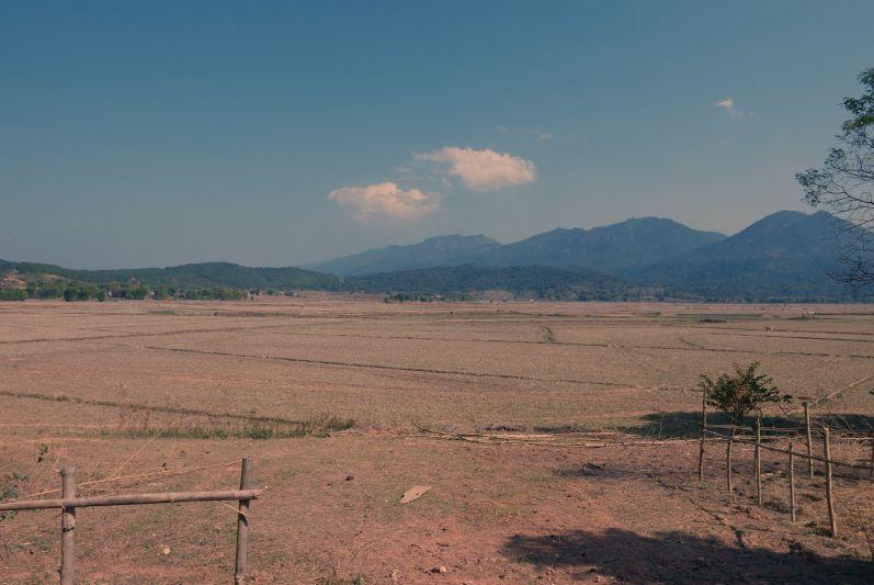Trockenzeit in Laos