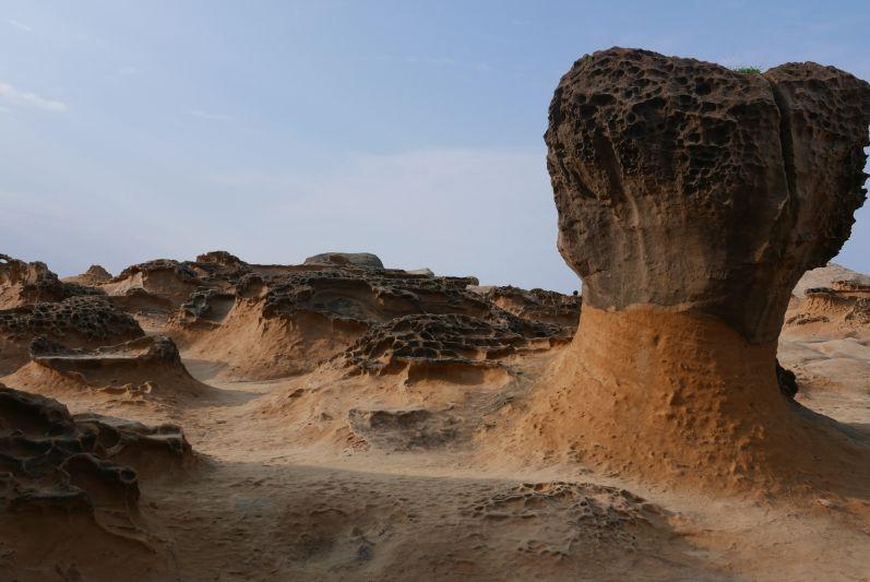 Der Yehliu Geopark bei Keelung