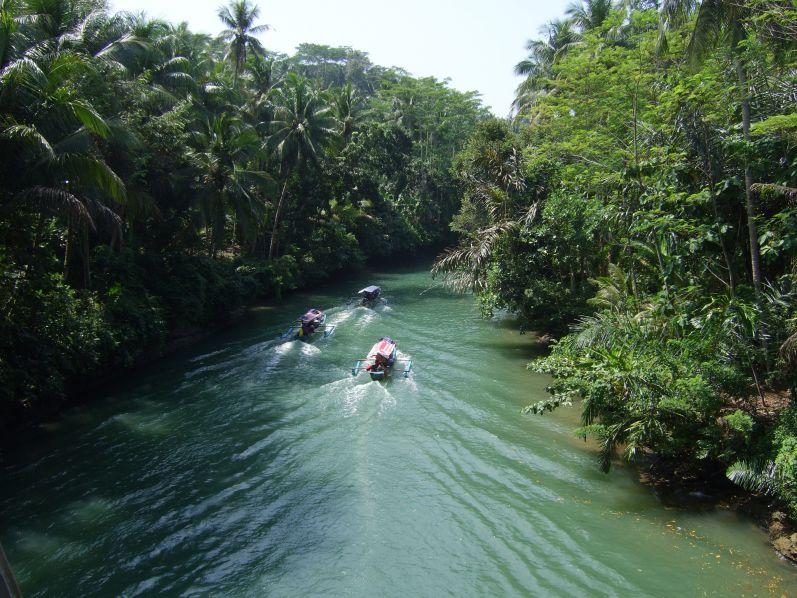 Der Green Canyon in Pangandaran (Java/Indonesien)