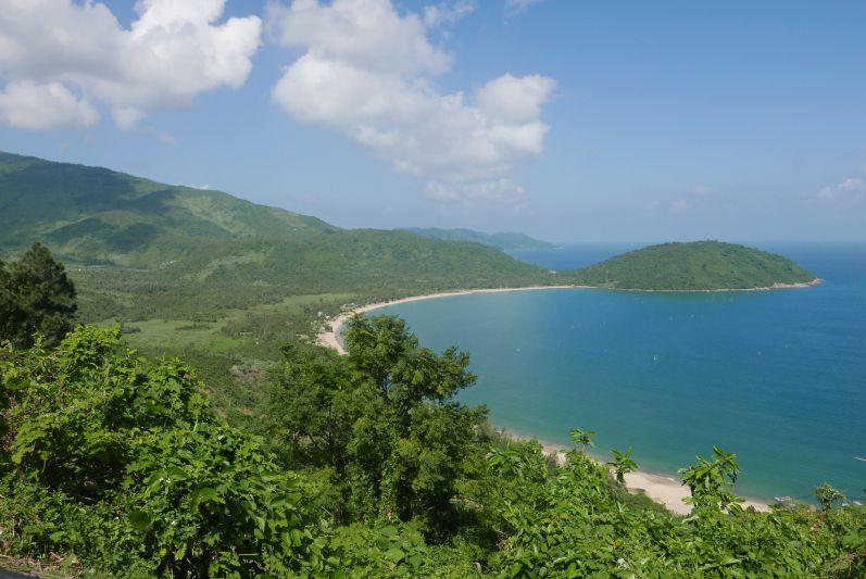Aussicht vom Hai-Van-Pass bei Danang (Vietnam)