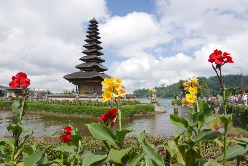 Lake Tempel auf Bali (Indonesien)