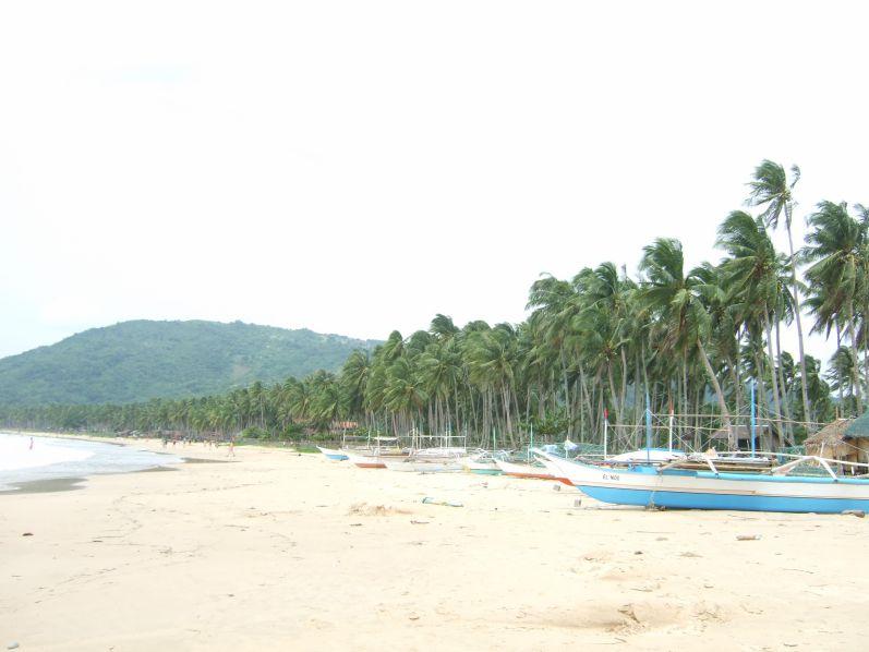 Nacpan Beach bei El Nido auf Palawan (Philippinen)