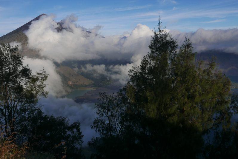 Ausblick auf den Rinjani (Lombok/Indonesien)